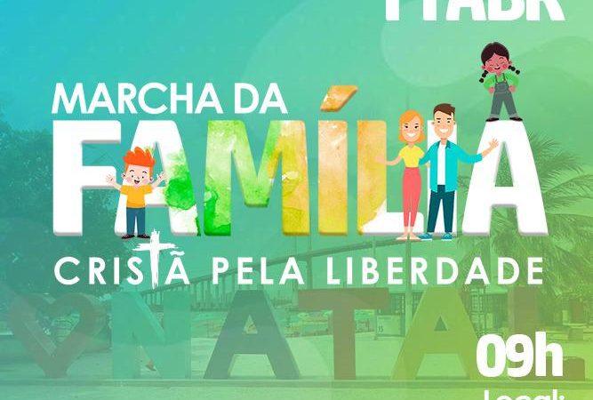 MARCHA DA FAMÍLIA CRISTÃ PELA LIBERDADE ACONTECERÁ EM TODO O BRASIL