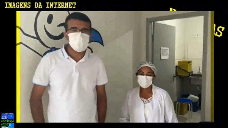 """Denúncia Grave: Prefeito Bolsonarista do Maranhão diz que Flávio Dino segura as vacinas pro município: """"nos ajude Bolsonaro mande o exército distribuir"""", VEJA O VÍDEO"""