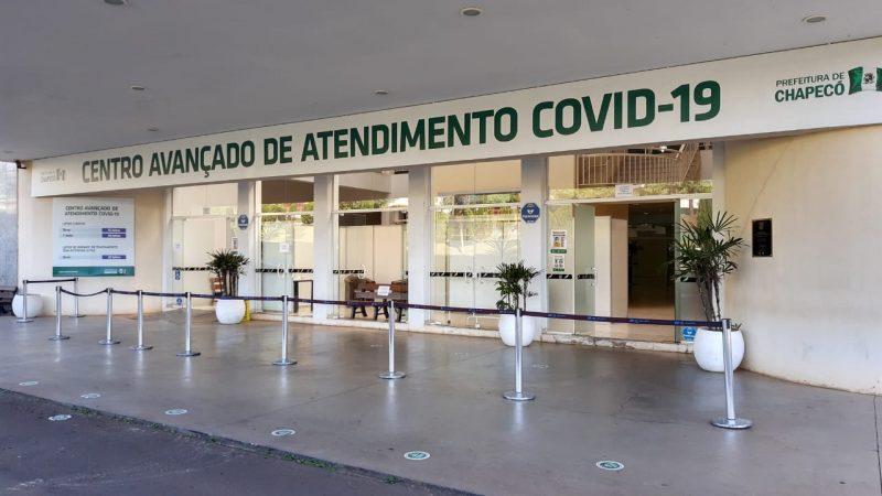 Chapecó não registrou mortes de moradores por Covid-19 nas últimas 24 horas