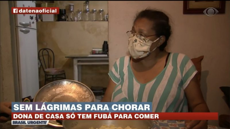 Sem dinheiro para o gás, dona de casa cozinha com álcool em gel; 'Você chora tanto que chega uma hora que as lágrimas se acabam'