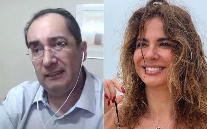 """Apresentadora Luciana Gimenez apresenta queixa-crime no STF contra Kajuru: """"garota de programa"""""""