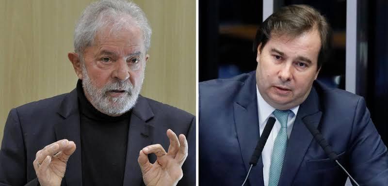 Lula e Rodrigo Maia devem se encontrar em Brasília para arquitetar projeto para 2022