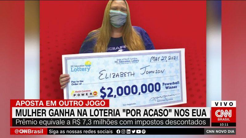 Mulher ganha R$ 10 milhões na loteria 'por acaso'
