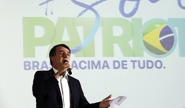 Bolsonaro fecha com o Patriota