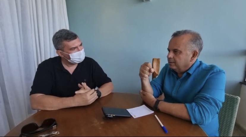 """EXCLUSIVO: Em entrevista, ministro Rogério Marinho explica como governo do RN usou R$ 20 milhões da obra de Oiticica: """"Isso pode atrasar entrega da obra""""; VEJA VÍDEO"""