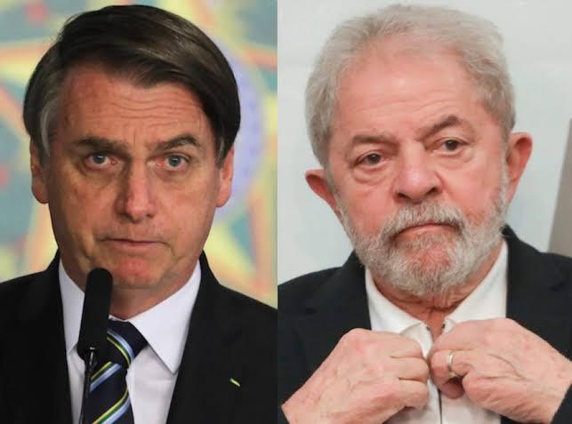 """Bolsonaro sobre Lula: """"A turma ainda quer votar no filho do capeta aí"""""""