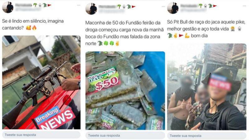 Mortos no Jacarezinho promoviam 'feirão das drogas' na internet
