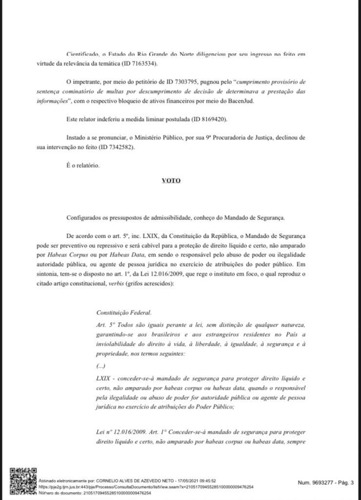 DFE0E84B-1BEB-4AC5-BAA0-89ABEB883990-739x1024 Cerco se fechando: Grupo de advogados consegue mandado de segurança para que Fátima Bezerra detalhe gastos na pandemia