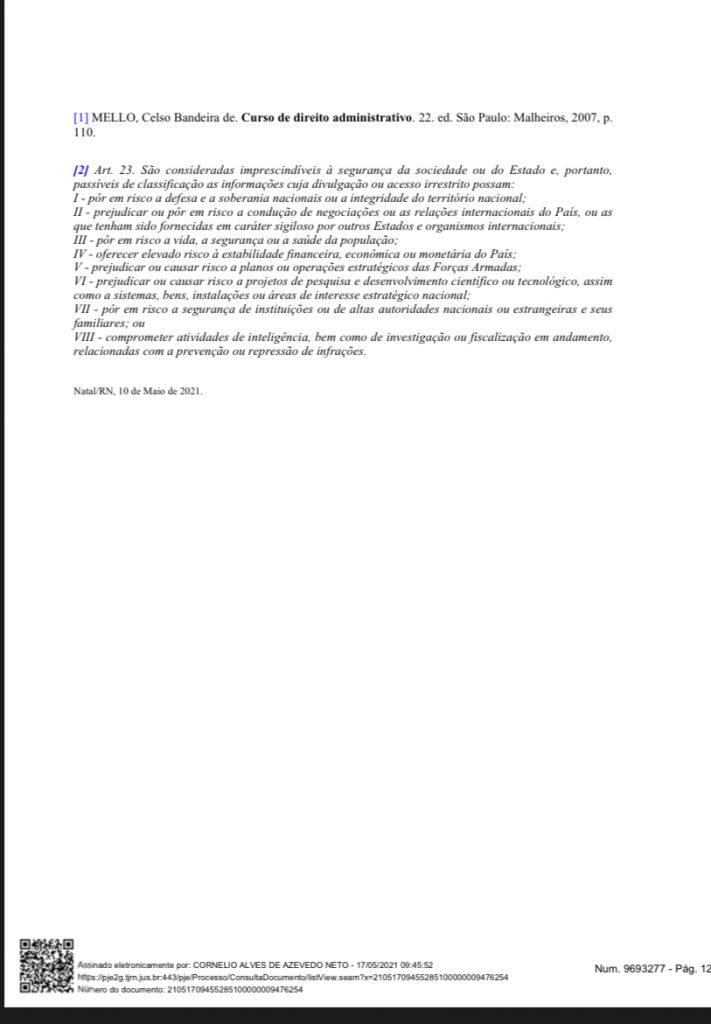 E7FA104D-D947-4F0E-A8AC-9637E4B59337-711x1024 Cerco se fechando: Grupo de advogados consegue mandado de segurança para que Fátima Bezerra detalhe gastos na pandemia