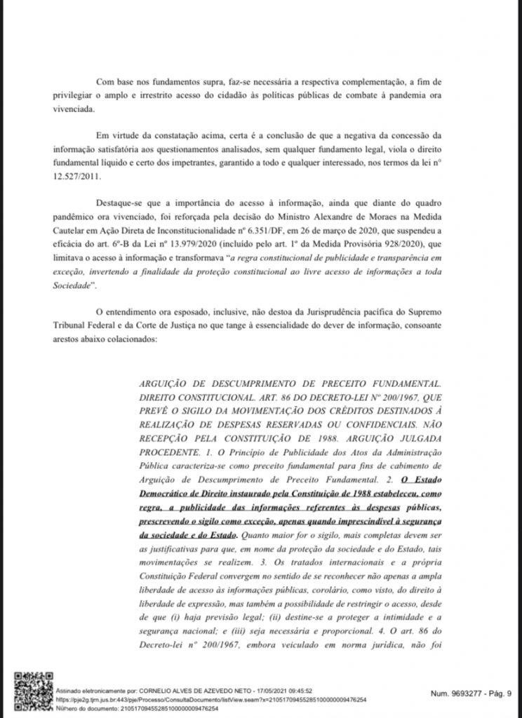 F4517CE7-8EEE-42A7-BC66-1CBF691173B3-744x1024 Cerco se fechando: Grupo de advogados consegue mandado de segurança para que Fátima Bezerra detalhe gastos na pandemia