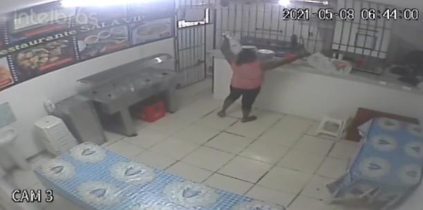 4 feridos em explosão de gás em restaurante de Belém; VEJA VÍDEO