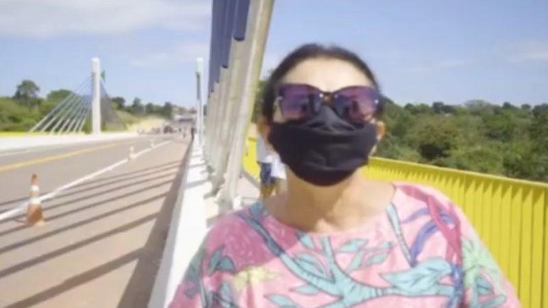 """EMOCIONANTE: Brasileiros relatam que ponte entregue por Bolsonaro era sonho distante: """"esperei por esse sonho por 73 anos""""; VEJA VÍDEO"""
