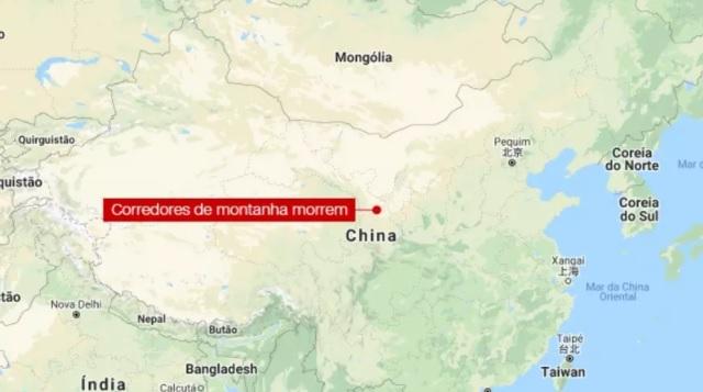 Em montanha na China, clima extremo mata 21 corredores de ultramaratona