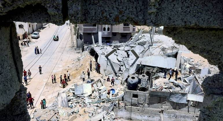 Faixa de Gaza: Bombardeios israelenses atingem casa de líder do Hamas em Gaza