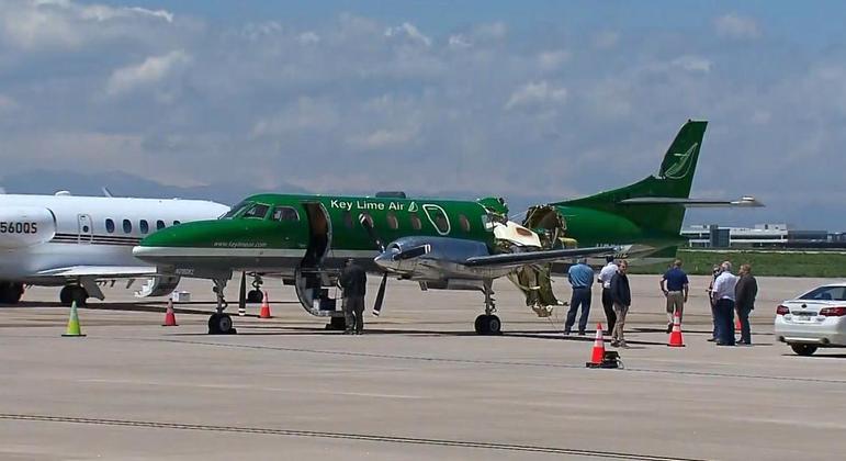 Colisão Aérea: Passageiros são obrigados a pular de paraquedas para se salvar nos EUA
