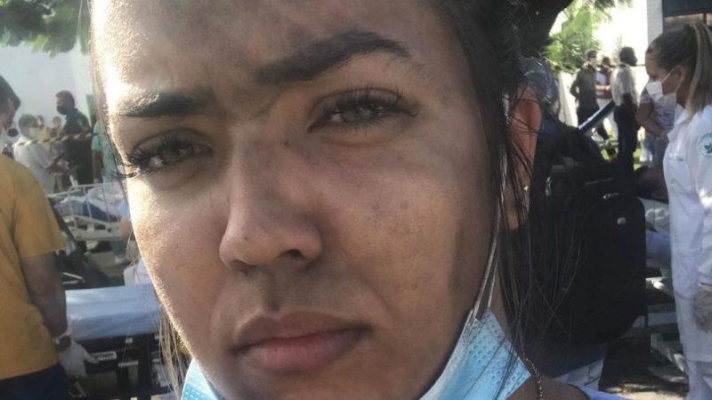 GUERREIRA: Enfermeira põe vida em risco para salvar 5 pacientes de incêndio em hospital