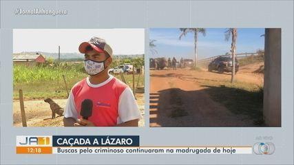Lázaro invadiu fazenda, roubou queijo, carregador de celular, R$ 30 e fugiu, diz morador