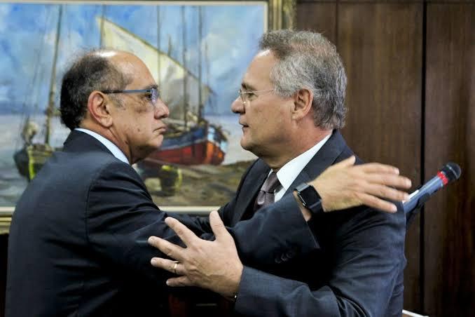 Gilmar Mendes pede vista e suspende ação sobre Renan Calheiros