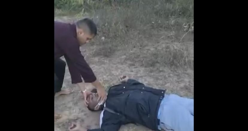Veja o momento em que pastor faz oração para bandido que morreu após tentar fazer assalto durante culto e derruba outro criminoso; ASSISTA AO VÍDEO