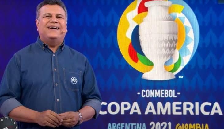 SBT desbanca Globo e lidera audiência no Norte e no Nordeste com a Copa América