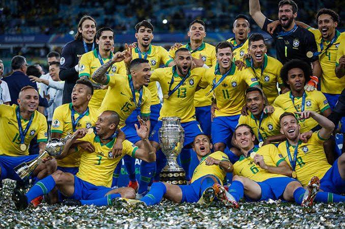 Jogadores da seleção brasileira vão disputar a Copa América