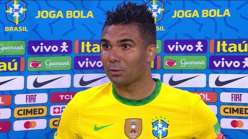 """""""Todos sabem a nossa opinião"""", disse Casemiro sobre Copa América"""