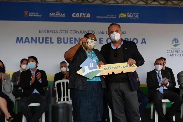 Habitação: Ministro Rogério Marinho entrega casas em SP e vai beneficiar mais de 1,6 mil pessoas; VEJA VÍDEO