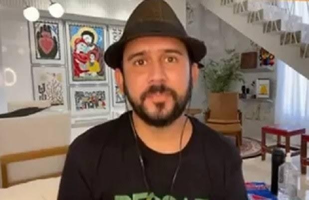 Mais um: Bráulio Bessa pegou Covid em gravação da Globo, diz jornal