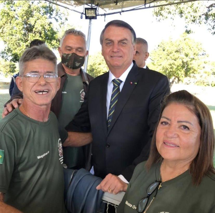 Jipeiro potiguar que faz viagem do RN ao RS para em Brasília e tem encontro com Bolsonaro