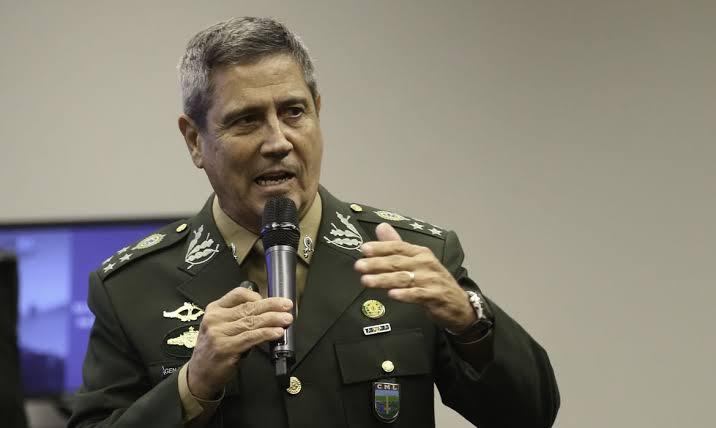 """Braga Netto: """"Forças Armadas estão coesas e disciplinadas para garantir a soberania e a liberdade da população"""""""