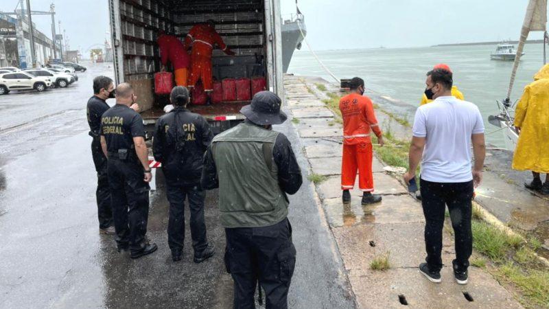 PF e Marinha fazem uma das maiores apreensões de haxixe em veleiro que saiu de Portugal, veja imagens