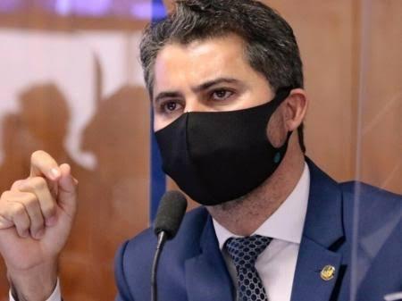 """Senador Marcos Rogério enaltece Wizard e detona CPI: """"Nesta comissão há um gabinete paralelo de verdade que define as deliberações escondido""""; VEJA VÍDEO"""