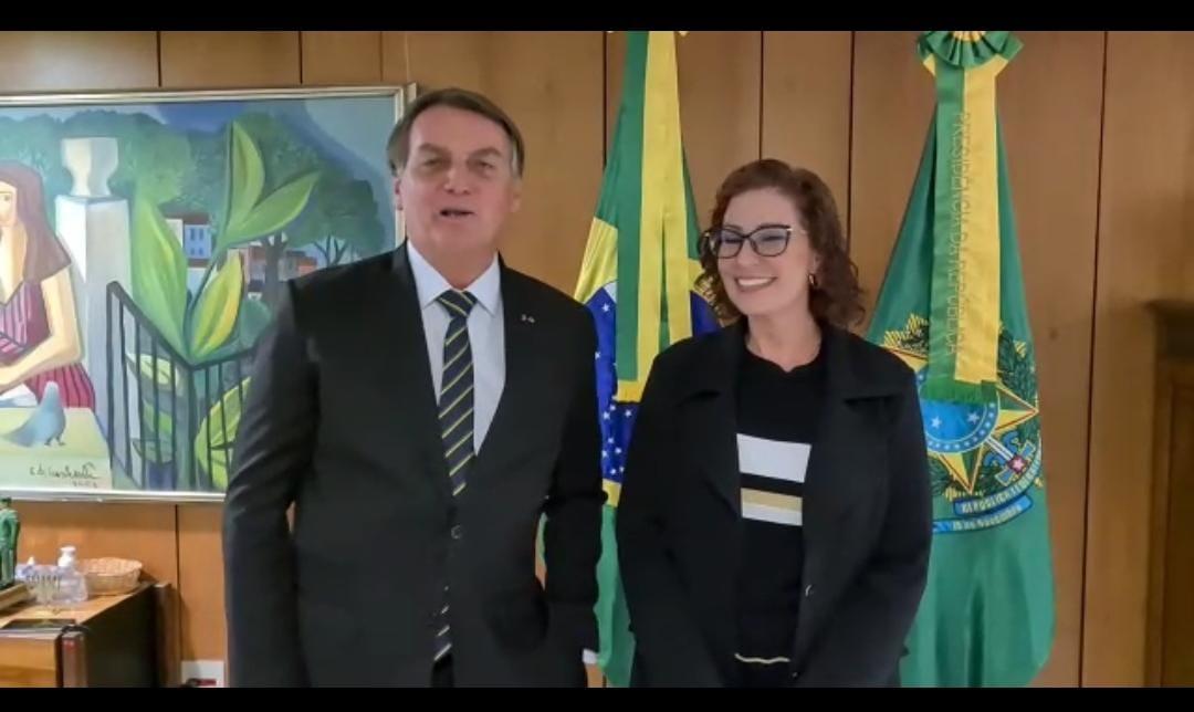 Bolsonaro garante a Carla Zambelli que estará na Motociata de São Paulo, VEJA VÍDEO