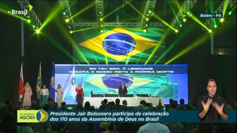 Ao Vivo: presidente Bolsonaro vai a comemoração dos 110 anos da Assembleia de Deus no Brasil, ASSISTA