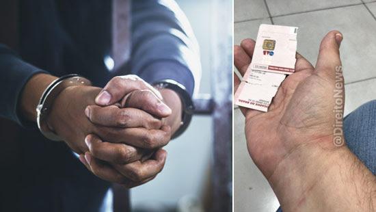 Em presídio, advogado é agredido, detido e tem carteira da OAB quebrada
