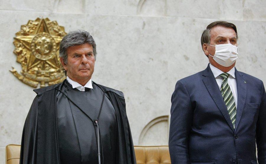 Fux pede um favor a Bolsonaro em Reunião hoje