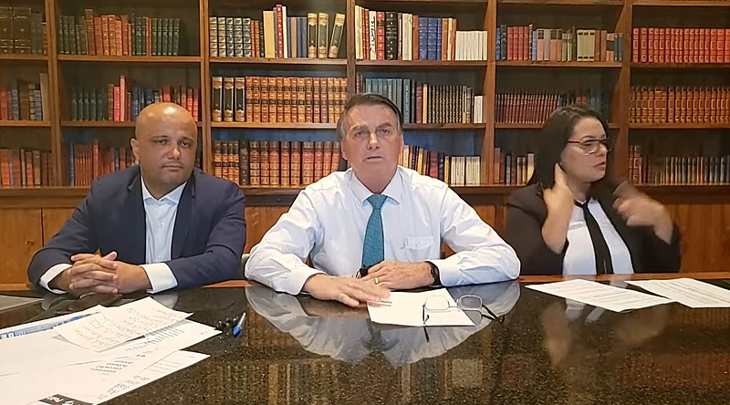 """Soltou 30 mil vagabundos"", Bolsonaro sobre Edson Fachin"