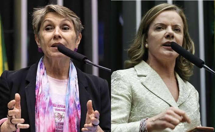 """Loucura: Gleisi Hoffmann e Erika Kokai pedem que mude nome da Câmara dos Deputados: """"Machismo"""""""