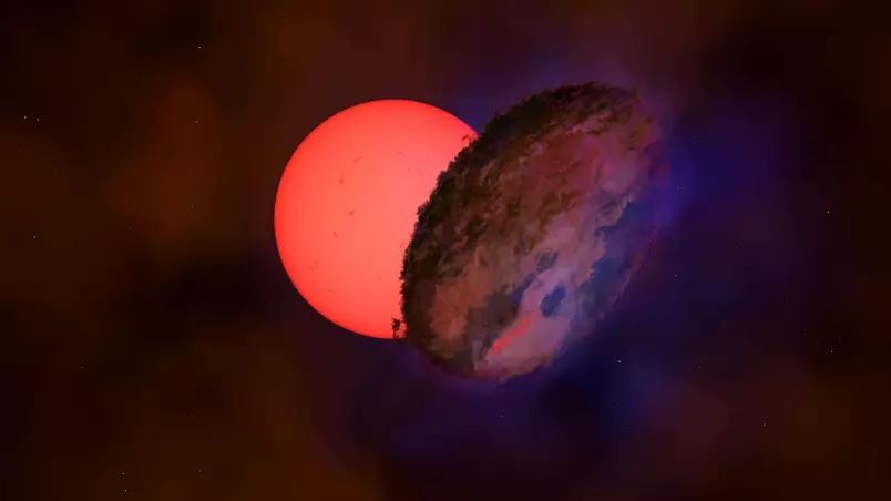 "Estrela gigante está ""piscando"" perto do centro da Via Láctea"