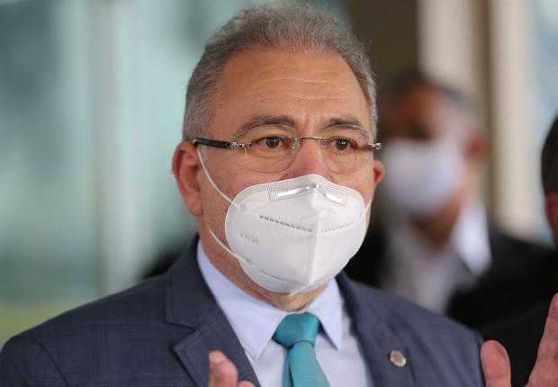 """""""A CPI faz o trabalho dela e eu faço a gestão do Ministério da Saúde"""", diz Queiroga"""