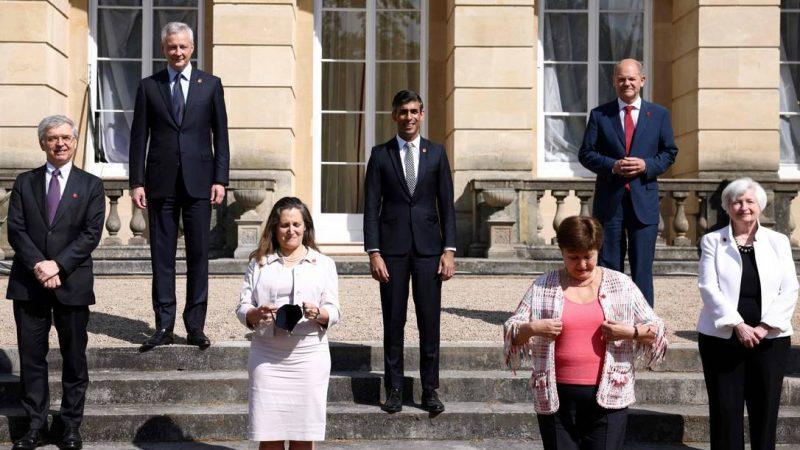 Ministros das finanças do G7 fecham acordo sobre criação de imposto global para grandes empresas