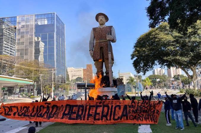 ABSURDO: Criminoso envolvido em incêndio da estátua de Borba Gato recebe liberdade provisória da Justiça