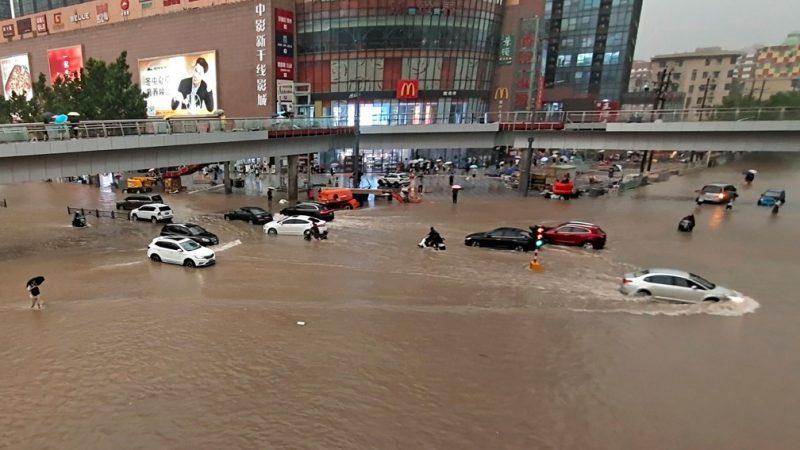 China: sobe para 25 o nº de mortos em decorrência das chuvas