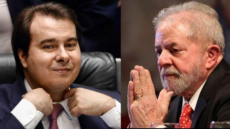 Se eleito, Lula cogita indicar Rodrigo Maia a ministério