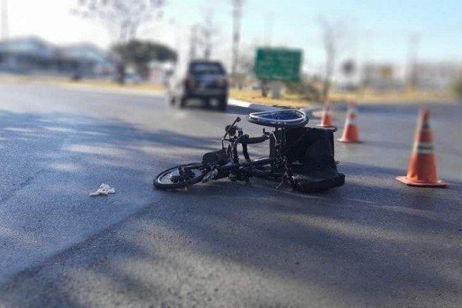 Cadeirante é atropelado em Samambaia