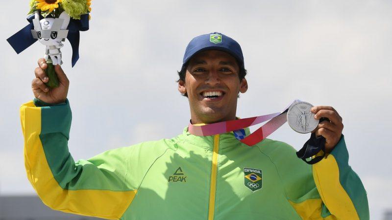 Olimpíada: Skate garante 1ª medalha do Brasil na competição