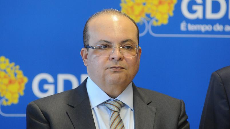 Ibaneis Rocha, governador do Distrito Federal, está internado em Brasília