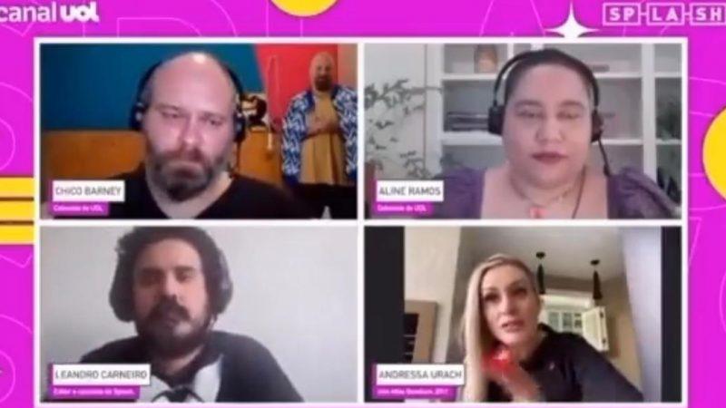 """Invertida: em LIVE de esquerda promovida pelo site UOL a entrevistada estragou a lacração: """"Eu quero que o presidente seja bom pro país, não apenas pra o grupo gay"""", VEJA VÍDEO"""