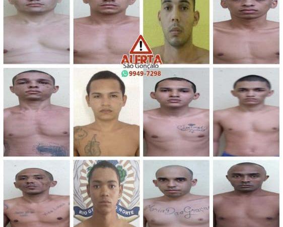 Fuga de Alcaçuz: Confira a lista dos fugitivos