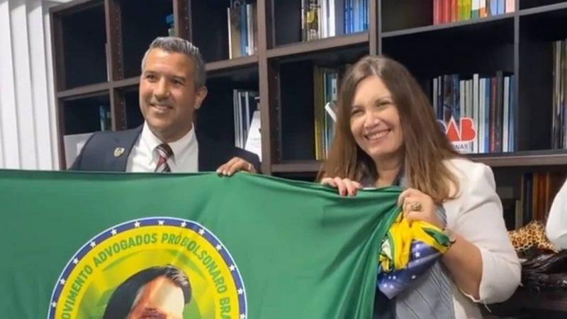 Presidente da OAB/AM recebe lideranças dos Movimentos Conservadores no Amazonas e a Deputada Federal Bia Kicis.